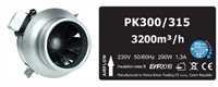 Prima Klima AC Blue Line 300/315mm Ventilator 320