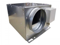 Mini-Box 100, Luftmenge 285 m³/h, 91 W 100mm Rohr