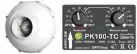 Prima Klima 100 TC, 280m³/h, incl. Temp