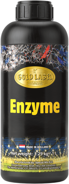 Gold Label Enzyme , 250ml