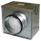 Luftfilter-Box Ø = 100 inklusive Grobstaubfilter