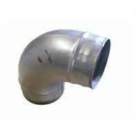 Bogen, Winkel 90° 250 mm Anschlussöffnung