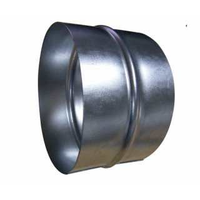 Verbindungsstück für 200 mm Flexrohre AP