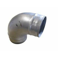 Bogen, Winkel 90° 125 mm Anschlussöffnung