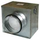 Luftfilter-Box Ø = 125 inklusive Grobstaubfilter