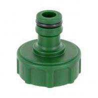 Pe Hahnverbinder 3/4 grün