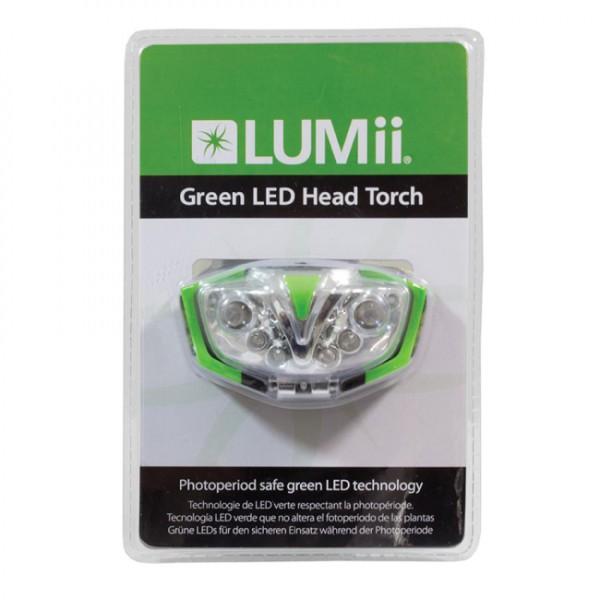 Elektrox Grüne LED Kopfleuchte