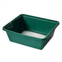 Garland Siebwanne, grün, feine Lochung 9 x 5 mm, 3